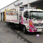 Traffic control truck